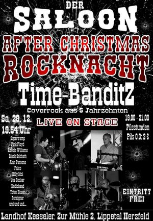 After Christmas Rock mit den Time-BanditZ