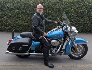 Meine Harley Davidson Road King Classic